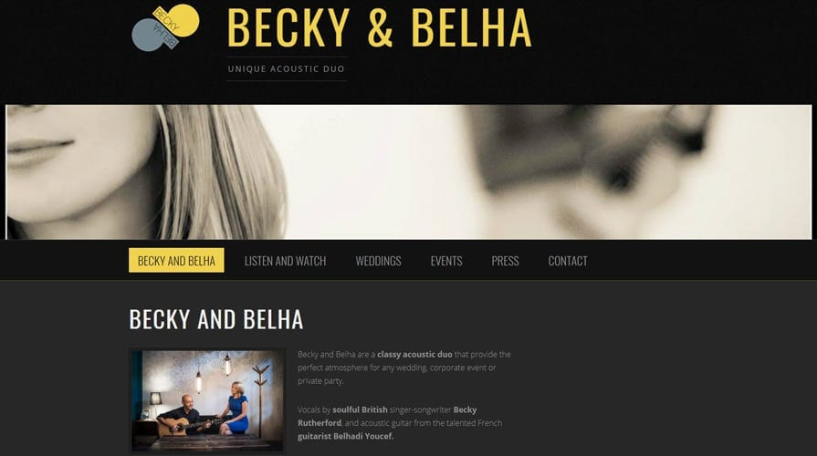 Backy & Belha - Unique Acoustic Studio