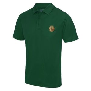 Coveted Green Casual Polo