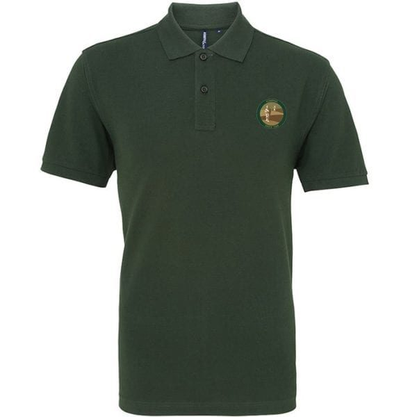 Coveted Green Sports Polo