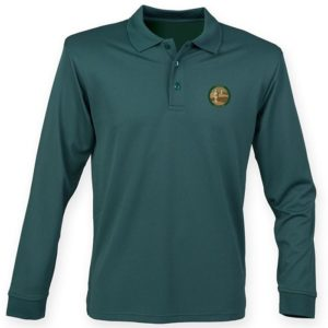 Coveted Green Polo (Long Sleeve)
